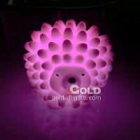 Lovely Colorful Hedgehog Night Light & Decoration Light ...