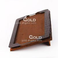 Leather different colours durable Vertical type case for ipa...