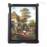 3D High Quality black cover Protective Case for iPad2 Withou...