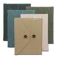 High Quality Envelop Jean PU Leahter Case Cover for iPad 2 3