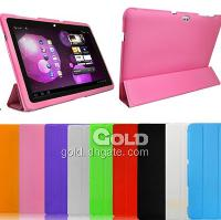 Slim Leather Case For Samsung P7300 Tablet PC