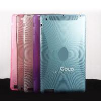 Leather Case Protect Cover for 2 ipad2 3 TPU leather Fingerp...