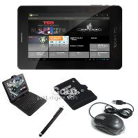 7'' Android 4. 0 Tablet 1. 5GHz Capacitve+ Keyboard Case+ holder...