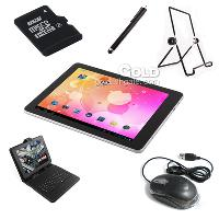 9. 7 inch Android 4. 0. 3 All Winner 1G 8G Tablet+ Keyboard cas...