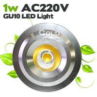 1W AC220V GU10 Corn 1 Led Lights 110LM Pure & Warm White...