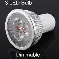 Energy- saving LED Spotlight Dimmable 3W GU5. 3 E27 GU10 110V ...