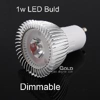 Energy- saving LED Spotlight Dimmable 1W GU5. 3 E27 GU10 110V ...