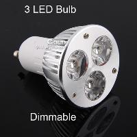 Energy- saving Dimmable LED Light 3W GU5. 3 E27 GU10 110V 220V...