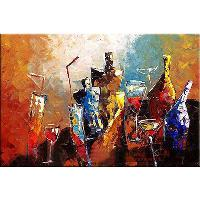 "Hand- painted Decoration Still life Oil Painting 36"" x24&..."