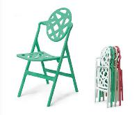 Disc Bird's Nest Folding Chair