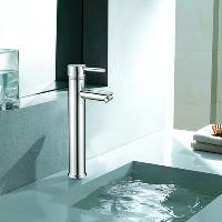 Fashion Tall Bathroom Sink Faucet Mixer Tap with Ceramic Val...