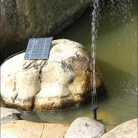 1. 2 Watt Solar Power Water Pump Garden for home and garden