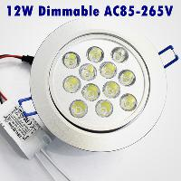Brand New 85- 265v 12 dimmable LED Light 12W Luminous Flux 12...