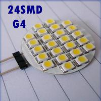G4 24 SMD LED Marine Camper Car Bulb Lamp Spotlight 12V Warm...