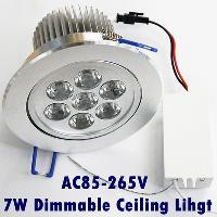 Dimmable Led Ceiling Light 7W 700 LM Warm White High Power L...