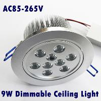 Warm White CREE Led Dimmable Down Light High Power 9W 9X1W 8...