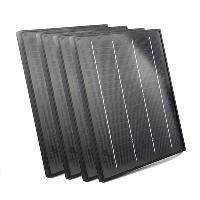 10W 18V Monocrystalline Silicon Solar Panel with Black Frame