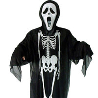 Masquerade Halloween costumes clothes skeleton ghost clothes...