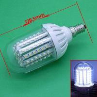 White 3528 SMD 90 Led Bulb Corn Light Lamp 5. 5W E14 New