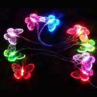 2. 5m 10 LED Butterfly LED String Light Flexible light AA bat...