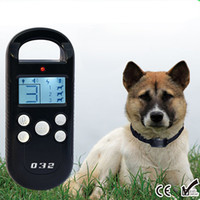 Rechargeable Remote Pet Training Collar With LCD Display for...