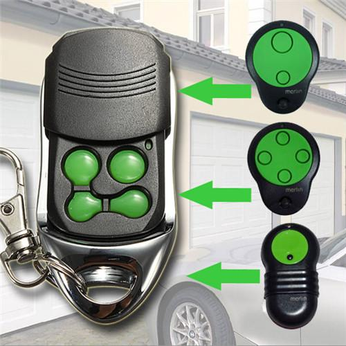 4 Channels Green Garage Door Compatible Remote Control For Merlin M842/M832/M844 Free shipping