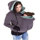 Baby Carrier Jacket Kangaroo Outerwear Hoodies