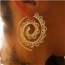 Swirl Drop Earring