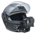 PULUZ adjustable helmet GOPRO HD action camera accessories