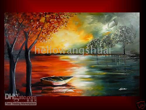 oil painting gallery - ORIGINAL PAINTING MODERN seascape ART GALLERY
