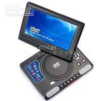 Wholesale 9 inch ROTARY PORTABLE DVD TV CARD READER player