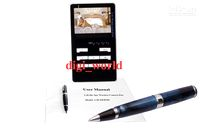 Wholesale Brand New GHz Wireless Color Spy Camera Pen With LM JS928 recorder