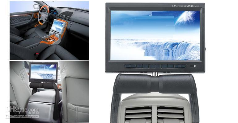armrest dvd - 8 quot car central armrest TFT LCD monitor with DVD player