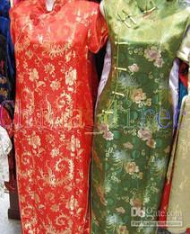 Sexy Imitated silk cheong-sam satin dress silk dress silk robe silk pajamas #2075