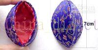 Jewelry Boxes jewelry bag satin wholesale Chinese Traditional satin jewelry box jewelry bag boxed gift box 100pcs lot