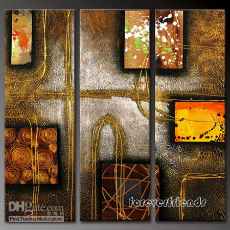 Wholesale Modern Abstract Huge Canvas Oil Painting1153