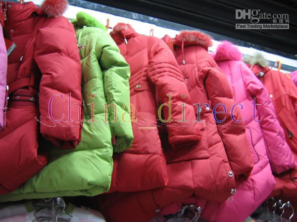 Wholesale New arrival children s Girls down jackets hoodies coat jacket tops outwear