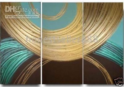Cheap Wholesale handicraft Modern Abstract Huge Canvas Oil Painting-Large art #0310