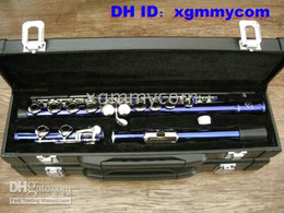 2009 new product high quality blue color flute Musical Instruments Woodwind  Flute