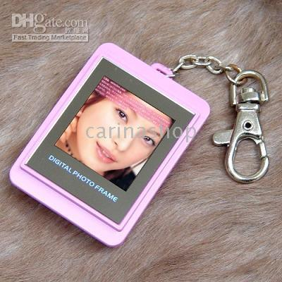 Wholesale Christmas Gift in Digital Photo Frame Key Chain