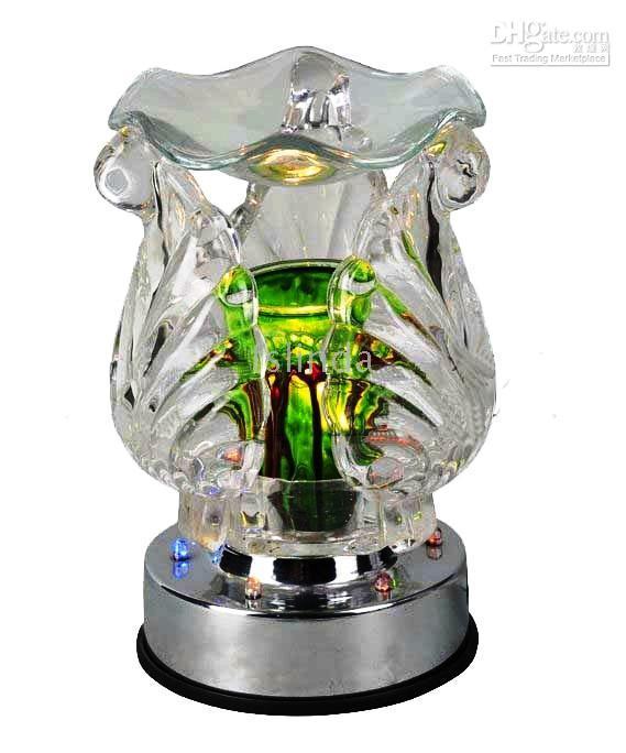 electric oil burner - free shiping LED light LED lamp fragrance lamp electric oil Burner
