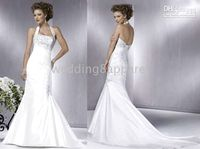 Wholesale Wedding Apparel gt Wedding Dresses gt Halter Wedding Dresses custom madesize any colors best dresses