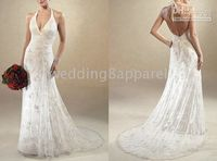 Wholesale Fashion Princess Wedding Dresses gt Halter Wedding Dresses custom madesize any colors topping