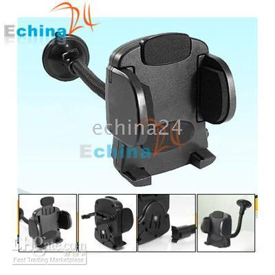 Wholesale 500 Universal Car Mount Holder for mobile phone cellphone PSP PDA GPS IPAQ B417