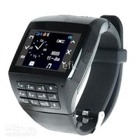 Wholesale Q8 Quad band hand written dual SIM card watch phone VE77 keypad wireless bluetooth G card pc