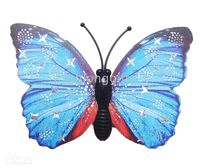 Wholesale Cute Mini Butterfly Fridge Magnet Refrigerator magnets car magnets Home Decor a Free Ship
