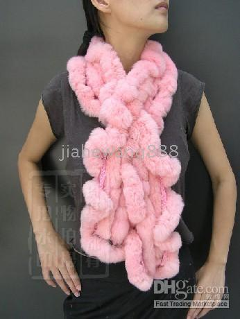 rex rabbit scarf - 2014Fur scarf rex rabbit scarf fungus white high quality models