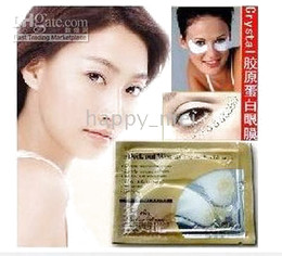 Wholesale Surprise price NEW arrive Crystal Collagen Eye Mask Anti wrinkle moisture F736