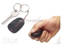 Wholesale 3pcs Key chain camcorder Pocket DV spycar Camera real G GB TF card slots mini Spy camera FPS