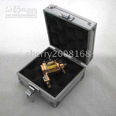 Wholesale BRAND NEW Light Weight Rotary Tattoo Machine GOLD BOX